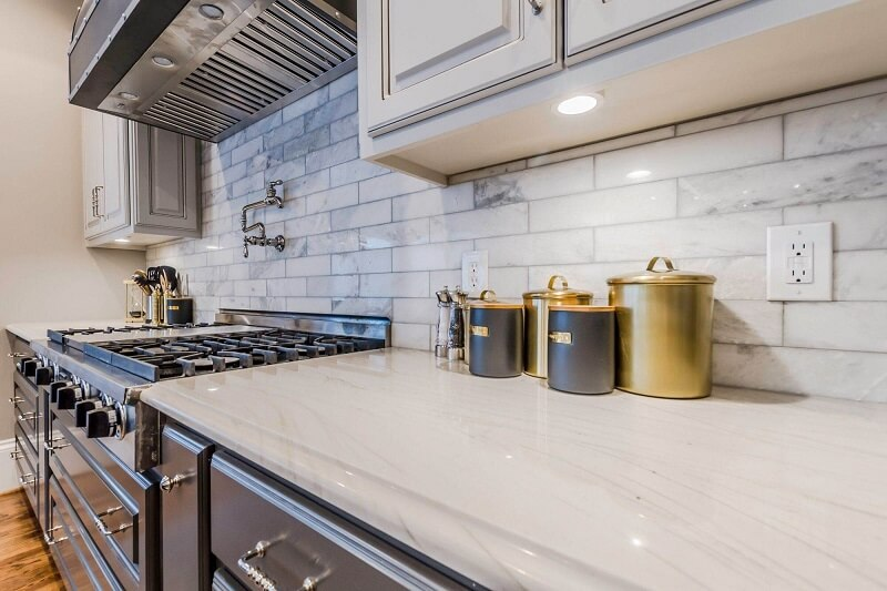 Custom Designed Bella Copper Kitchen Hood